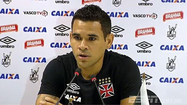 Em boa fase, Éderson pede titularidade no Vasco: 'Estou dando meu melhor'