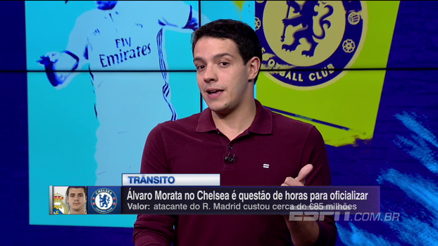 Rafael Oliveira: Morata pode se encaixar muito bem nos perfis de jogo do Chelsea e da Premier League