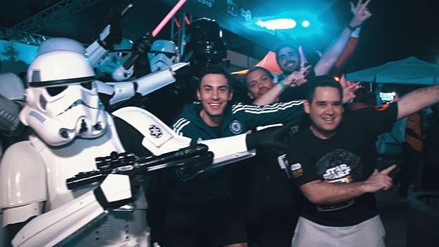 Série 'Star Wars Run' virou curta-metragem; veja na íntegra o desafio cumprido pelo BB Debate
