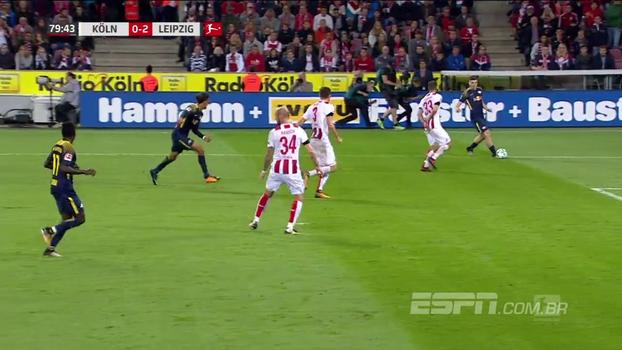 Leipzig vence Colônia fora de casa, sobe na tabela e entra na zona de classificação para a Champions League