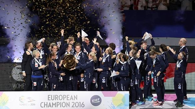 Noruega vence Holanda por apenas 1 gol de diferença e é campeã europeia de handebol