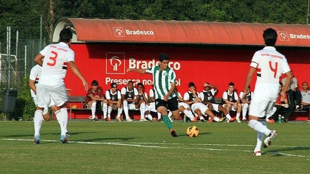 Copa do Brasil Sub-17: Gols de São Paulo 1 x 1 Coritiba