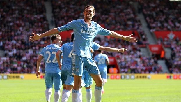 Confira os gols da vitória do Stoke City sobre o Southampton, por 1 a 0, na Premier League