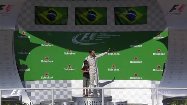 Com emocionante despedida de Massa e vitória de Vettel, veja como foi o GP do Brasil de F1