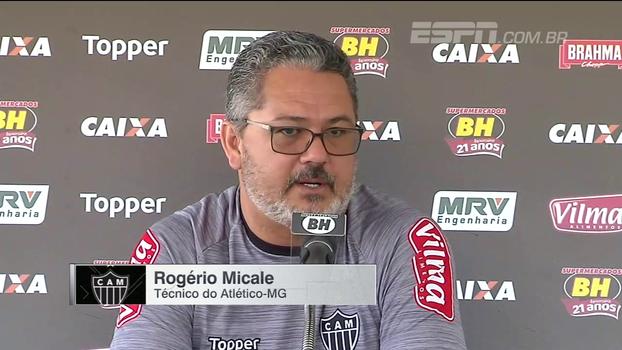 Micale não reclama de calendário e projeta duelo contra o Flamengo