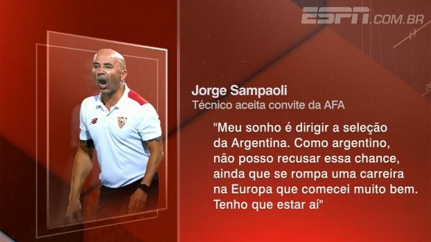 Bertozzi comenta os desafios de Sampaoli na seleção argentina: 'Terá pouco tempo'
