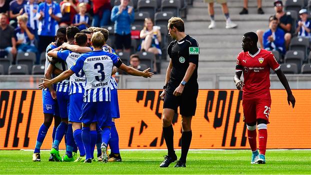 Bundesliga: Gols de Hertha Berlin 2 x 0 VfB Stuttgart