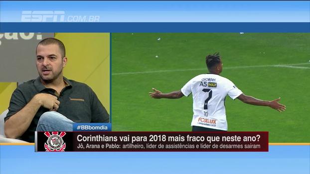 Zé Elias diz que possível chegada de Ronaldo pode ajudar o Corinthians a fortalecer o elenco: 'Traz credibilidade'