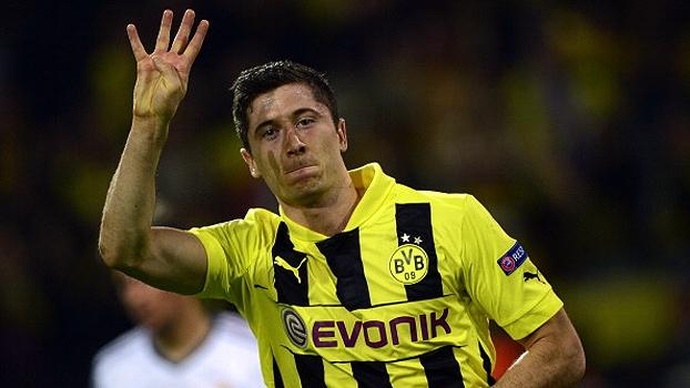 Champions League (quartas - jogo de ida): Gols de Borussia Dortmund 4 x 1 Real Madrid