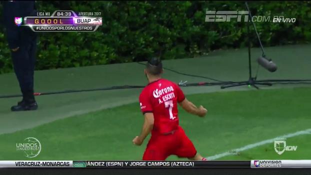 Jogador faz golaço no Campeonato Mexicano aos 40 do segundo tempo