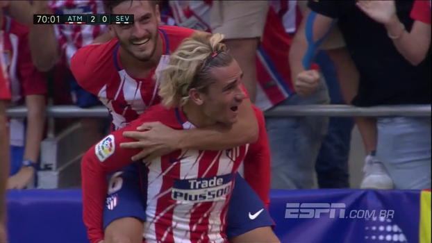 LaLiga: Melhores momentos de Atlético de Madri 2 x 0 Sevilla