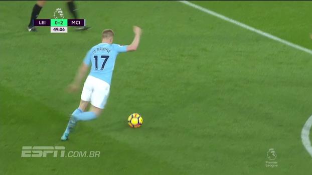 Premier League: Melhores momentos de Leicester City 0 x 2 Manchester City
