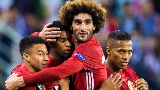 Europa League: Gol de Celta de Vigo 0 x 1 Manchester United