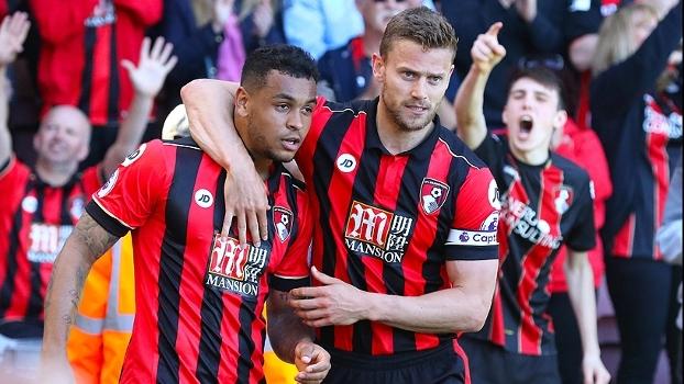 King marca no fim, e Bournemouth vence o Burnley por 2 a 1