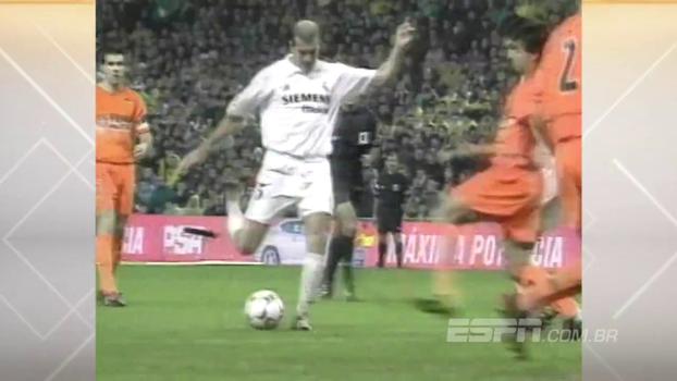 Com gol e assistência para Ronaldo, Zidane comandou vitória do Real sobre o Valencia em 2003