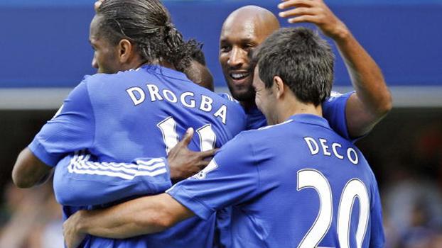 Com gols de Anelka e Ballack, Chelsea atropelou Burnley em 2009