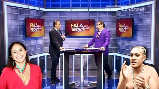 Escalação moleque com político e famosos, CR7 irritado e música para a Argentina no Fala Sério!