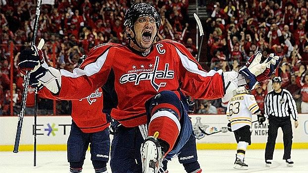 Na NHL, Alexander Ovechkin chega a marca de mil pontos pelos Nationals