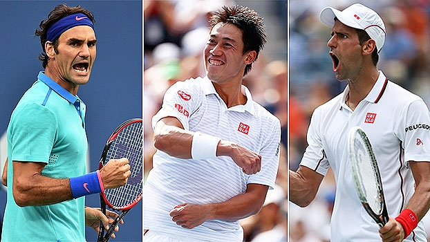 US Open: Curta de Djokovic, passada de Nishikori e winner de Federer entre as melhores jogadas do dia 13