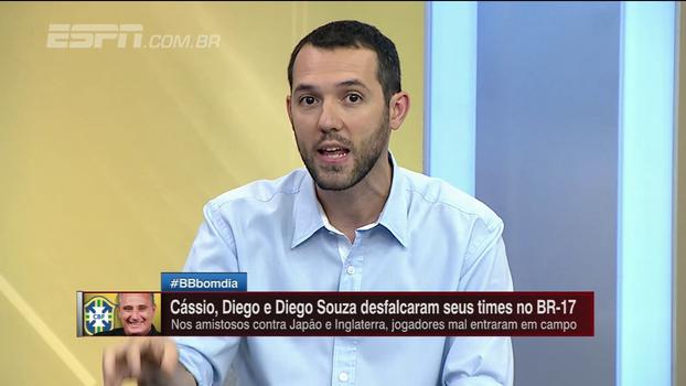 Zé Elias diz que Tite deveria testar quem leva; Hofman desabafa: 'Teste contra o Japão; contra a Inglaterra, o time principal'