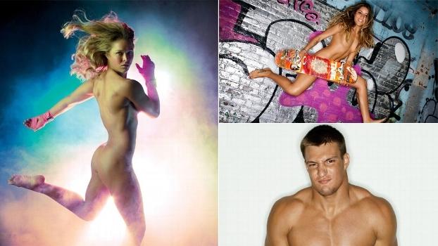 Com Ronda Rousey, Bufoni, Gronkowski e outros, relembre estrelas que já posaram para a Body Issue