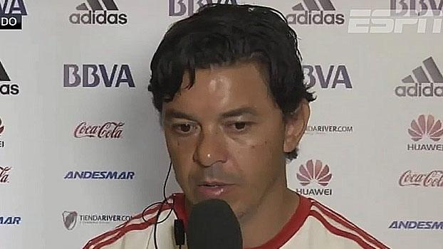 Adversário do São Paulo na Florida Cup, Gallardo analisa 2016 do River Plate