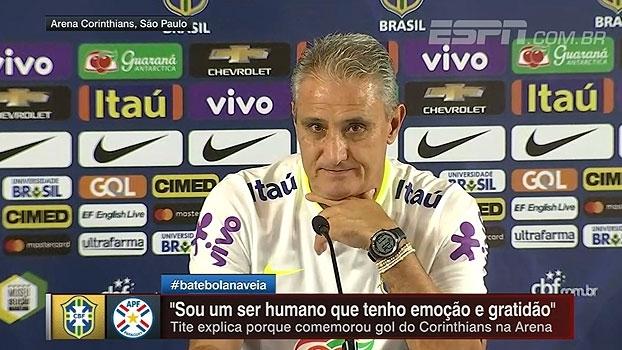 Tite destaca Cavani e comemora elogio de atacante uruguaio: 'Felicidade monstra'