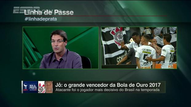Arnaldo aprova Jô como Bola de Ouro, mas faz ressalva: 'Estamos produzindo poucos jogadores acima da média'