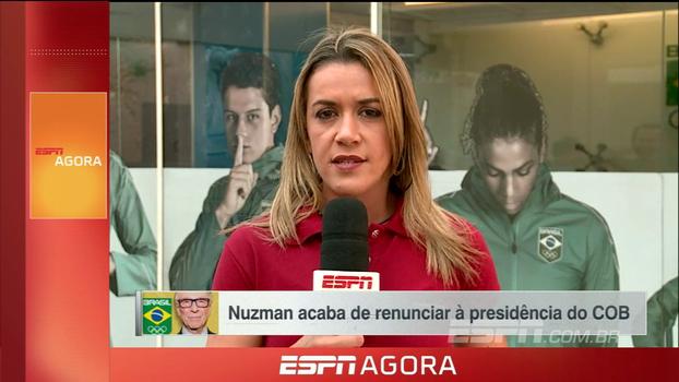 Gabi Moreira atualiza informações sobre carta de renúncia de Nuzman