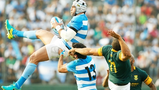 Em partida emocionante, Puma batem Springboks no Rugby Championship