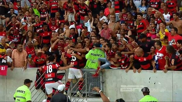 Comemoração na escada do estádio: Cel. Marinho  diz que cartão é aplicado por motivos de segurança