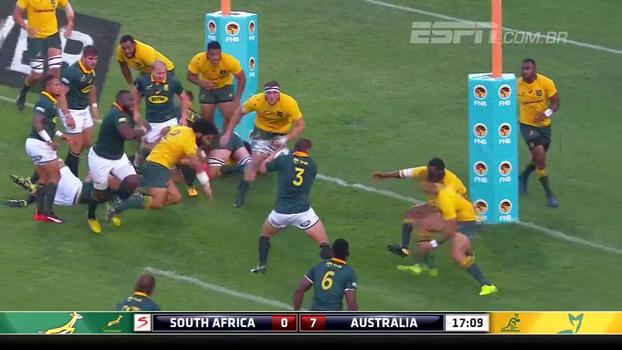 Austrália e África do Sul empatam por 27x27 no Rugby Championship