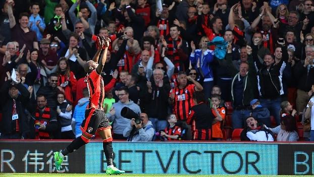 Assista aos gols da vitória do Bournemouth sobre o Middlesbrough por 4 a 0