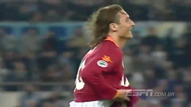 Parabéns, Capitano! No aniversário de Totti, relembre um dos gols mais marcantes da carreira do craque