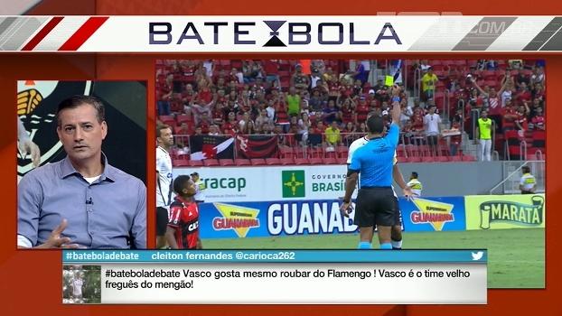 Sálvio analisa reação de árbitro que expulsou Luis Fabiano: 'Legitimou o que aconteceu'