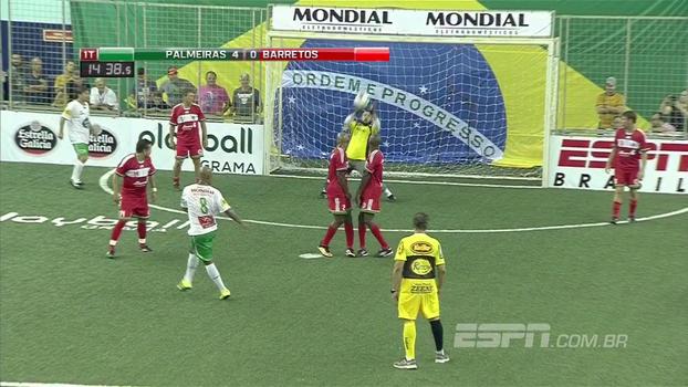 Showbol: Marcos Assunção enche o pé e anota um golaço para o Palmeiras