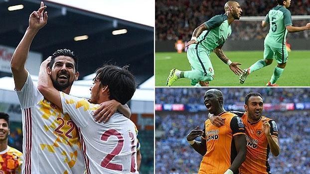 Coberturas incríveis, gol do acesso e mais: Veja os golaços internacionais do final de semana