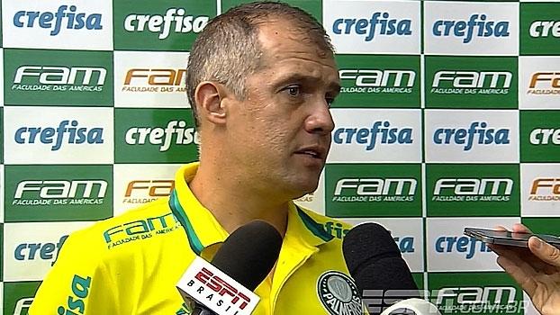 Depois de golaço de Vitinho, Eduardo Baptista revela primeira pergunta em chegada ao Palmeiras: 'Ond