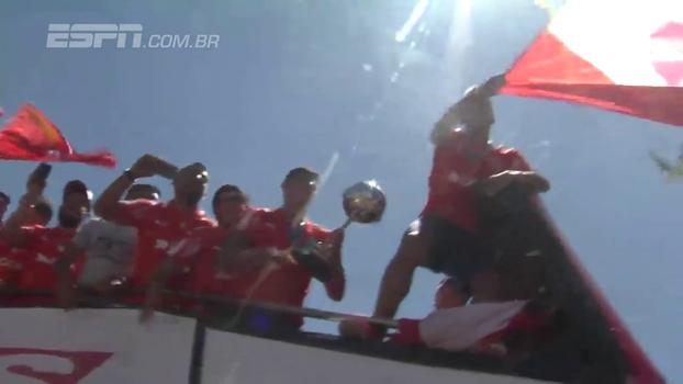 Assista à festa do Independiente, campeão da Copa Sul-Americana, na Argentina