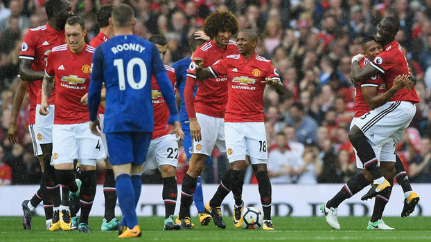 Premier League: Gols de Manchester United 4 x 0 Everton