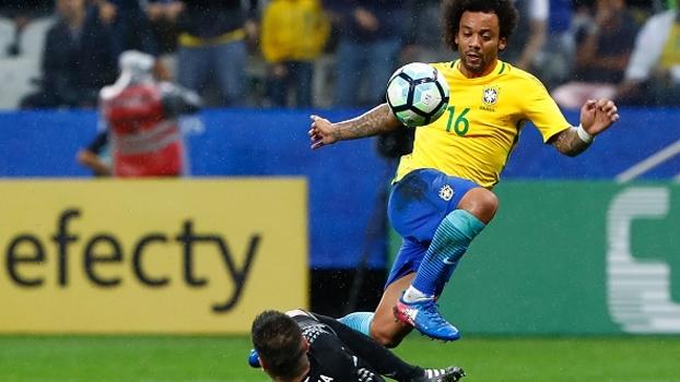 Marcelo reconhece 1º tempo difícil e se diz tranquilo após vitória