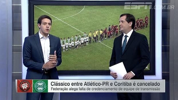 Rafael Oliveira analisa questão de Atletiba cancelado: 'Sistema feito para defender interesses próprios'