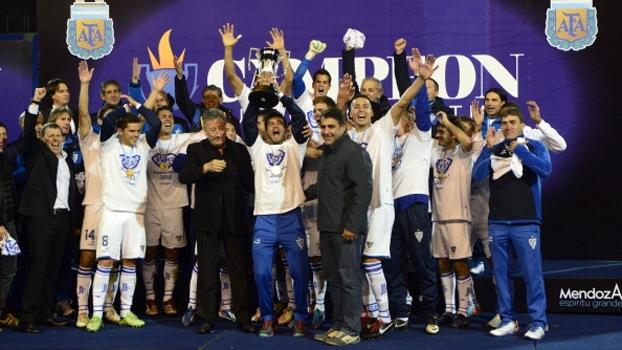 Superfinal do Argentino (jogo único): Gol de Vélez Sarsfield 1 x 0 Newell's Old Boys