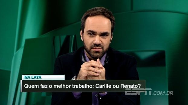 Quem faz o melhor trabalho: Carille ou Renato Gaúcho? Assista ao 'Na Lata!'