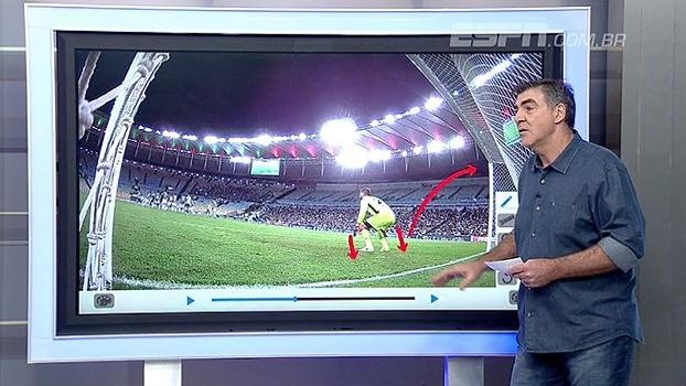 Passada e impulsão; Zetti vê Júlio César com dificuldades técnicas contra o Flamengo