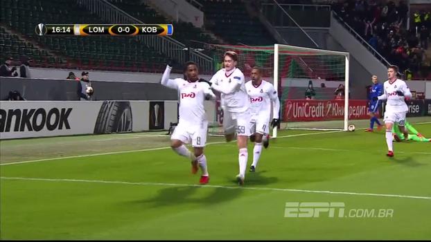 Farfan marca 2 e Lokomotiv Moscou ultrapassa o Copenhagen na luta pela classificação
