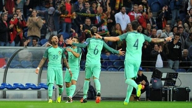 Amistoso Internacional: Gols de Portugal 3 x 0 Noruega