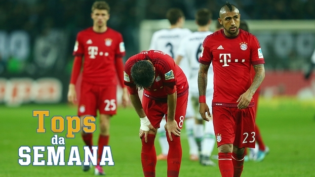 Borussia M'Gladbach parando o Bayern, Leicester líder do Inglês e Dybala decisivo na Juventus no Tops da Semana