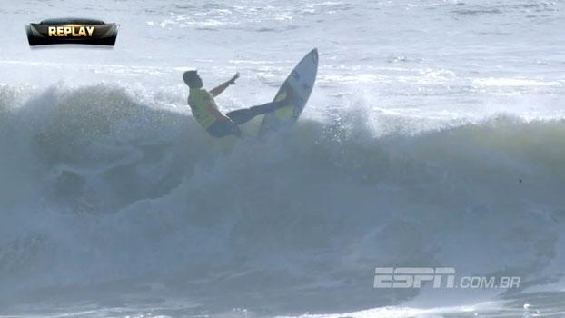As ondas de Medina no Round 3 do WCT Portugal