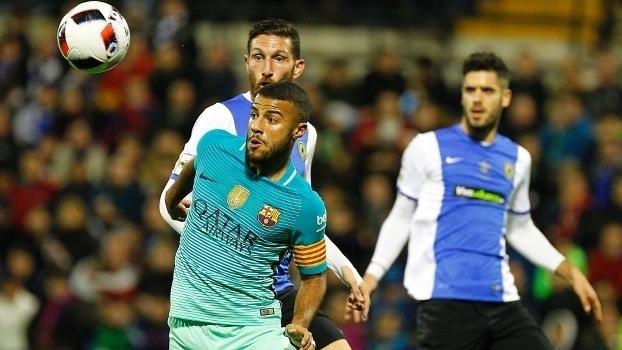 Copa do Rei: Gols de Hércules 1 x 1 Barcelona